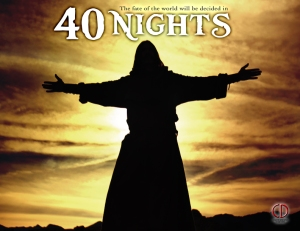DJ Perry as Jesus in 40 Nights
