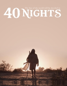"One of the teaser posters for CDI's ""40 Nights"""