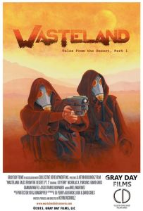 Wasteland Poster with Credits