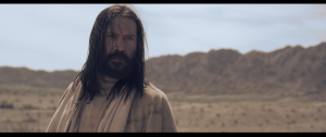 DJ Perry as Jesus in the biblical drama