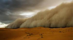 The storm cometh