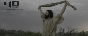DJ Perry as Jesus in