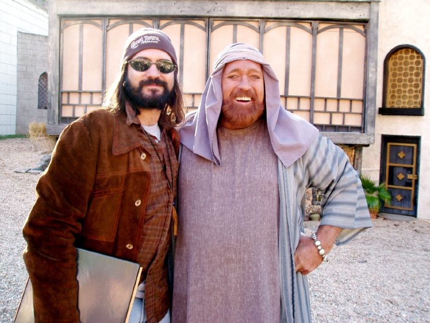 12484941-dan-haggerty-and-dj-perry-on-set-book-of-ruth-journey-of-faith