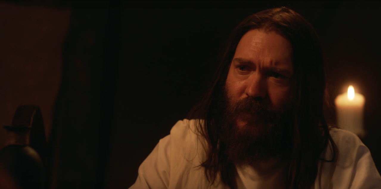 DJ Perry as Jesus in THE CHRIST SLAYER